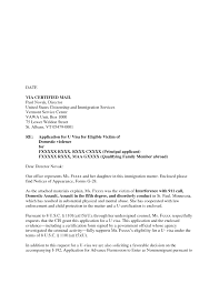 how to make a cover letter for uscis formal format sample i gallery of cover letter to uscis