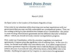 Roundshotus Nice Letter From Senate Republicans To The Leaders Of Iran The New With Hot Letter From Senate Republicans To The Leaders Of Iran The New York