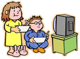 Image result for a kid watching telly