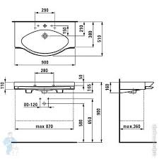 <b>Раковина Laufen PALACE</b> 812702 (900х510х165) три отверстия ...