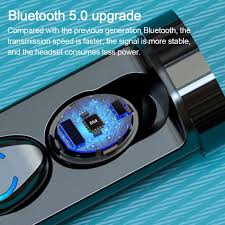 <b>TWS F9 6 Bluetooth</b> Earphone 5.0 <b>Wireless</b> Earbuds 3D Stereo Mini ...