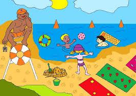 Znalezione obrazy dla zapytania bezpieczne wakacje