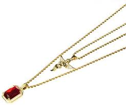 Amazon.com: <b>Hip Hop</b> Iced Out 14K <b>Gold Plated</b> Baby Angel & Red ...