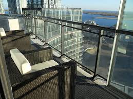 why toronto condo balconies lack nice patio furniture nice patio furniture alexandria balcony set high quality patio furniture