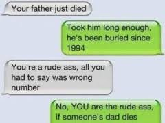 Wrong Number Text | WeKnowMemes via Relatably.com