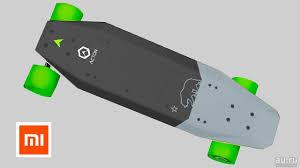 Электрический <b>скейтборд Xiaomi Acton Smart</b> Electric Skateboard ...