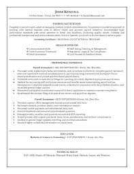 accounting resume best  seangarrette coaccounting resume best
