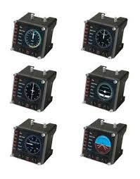 Геймпад <b>Logitech</b> G Saitek Pro Flight Instrument Panel черный USB ...