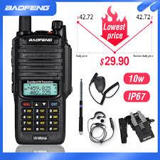 <b>Baofeng</b> Radio Walkie Talkie <b>BF</b>-<b>UV9R PLUS</b> Waterproof VHF UV ...