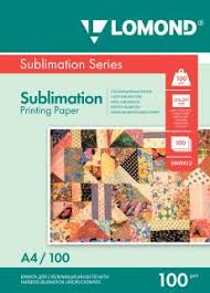 Одностороння <b>Сублимационная бумага</b> для струйной печати, А4 ...