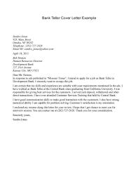 sample application letter of a bank teller org sample of application letter of a bank teller fresh graduate