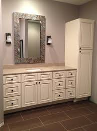 bathroom quot mission linen: vanities and bathroom linen closets bathroom design ideas