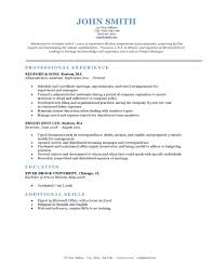 sample classic resume templates resume sample information example classic resume template for administrative assistant professional experience sample classic