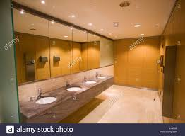 a bathroom in a newly fitted office building stock image bathroom office