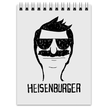 "Блокнот ""Heisenburger"" #951522 от geekbox - <b>Printio</b>"