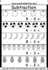 Kindergarten Worksheets / FREE Printable Worksheets – WorksheetfunKindergarten Subtraction Worksheets