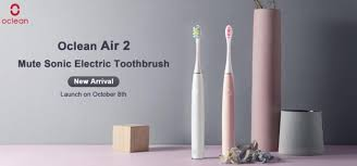 The Silent Toothbrush from <b>Oclean Air2</b> Coming to eBay this October