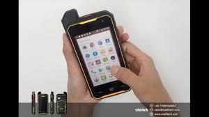 UNIWA T101 <b>4G LTE</b> Zello POC/PTT <b>Walkie Talkie</b> IP67 Waterproof ...