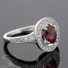 Ruby <b>Diamond Ring</b> - <b>Twinkle</b> Diamonds