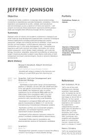 research resume samples   nybio resume keeps them comiresearch assistant for professor resume sample