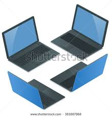 laptop icon laptop isolated laptop isometric laptop laptop vector laptop technology awesome office table top view shutterstock id