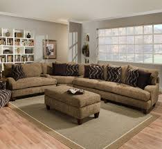 traditional creamy l shaped microfiber sectional with decorative pillows in family room black microfiber sectional sofa beautiful beige living room grey sofa