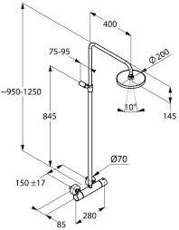 Душевая система <b>KLUDI</b> A-QA <b>термостат для душа</b> настенный ...