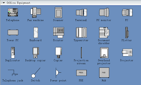 symbols for building plan office equipment building office furniture