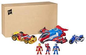 Super Hero Adventures Marvel Figure and Jetquarters ... - Amazon.com