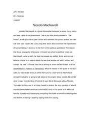 niccolo machiavelli study resources pages niccolo machiavelli essay