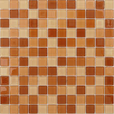 <b>Стеклянная мозаика Caramelle</b> mosaic Acquarelle 4 мм Habanero ...