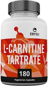 EBYSU <b>L</b>-<b>Carnitine</b> L-Tartrate Supplement - <b>180</b> Vegan Capsules ...