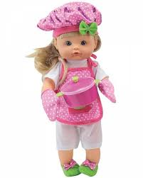 <b>Кукла DIMIAN</b> BABY <b>NENA шеф</b>-<b>повар</b>, 36 см - BD387 | детские ...