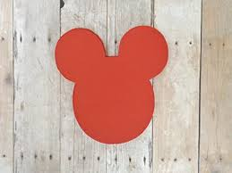 Mickey Mouse Red Head Die Cut Place Card Food ... - Amazon.com