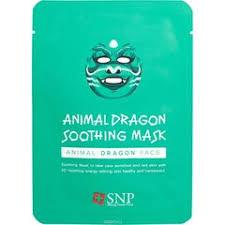 «Маска для лица <b>SNP Animal dragon</b> soothing mask» — Маски ...