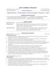 java resume sample  chaoszresume  java