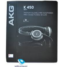 Mobile-review.com Обзор <b>наушников AKG</b> K 450 Navy