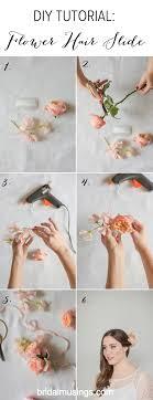 flowers wedding decor bridal musings blog: bridal musings diy flower hair slide tutorial