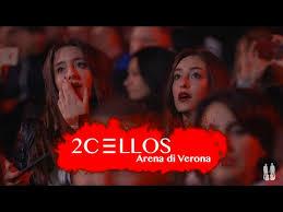 2CELLOS - Shape Of My <b>Heart</b> [<b>Live at</b> Arena di Verona] - YouTube