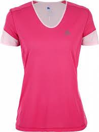<b>Футболка</b> женская <b>Salomon Trail</b> Runner розовый цвет — купить ...
