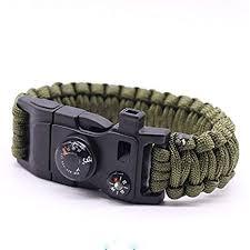 Add-gear Paracord 550 Bracelet (15 in 1) Multifuctional Survival Kit ...