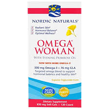Buy Nordic Naturals, <b>Omega Woman, With Evening</b> Primrose Oil ...