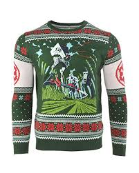 <b>Star Wars</b> Ugly Christmas Sweater Battle of Endor <b>Men Women</b> Boys