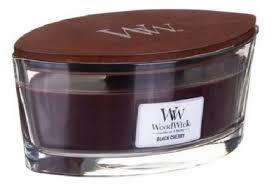 <b>Ароматическая свеча</b>-эллипс Black <b>Cherry</b> WoodWick купить ...