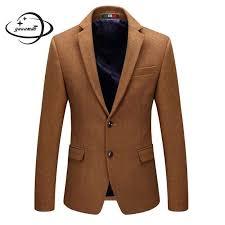 YAUAMDB <b>men</b> blazers 2018 spring <b>autumn</b> size M <b>4XL</b> wool male ...