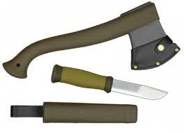 <b>Morakniv Outdoor Kit MG</b> Axe & MORA 2000 ▷ Outdoor Knives for ...