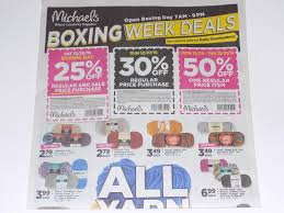 michaels boxing day 2015 deals doorbusters exclusive we have an exclusive sneak peek of the upcoming michael s boxing day flyer make your own the following coupons