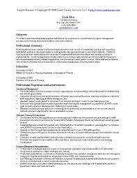 sample resume itsample resume examples