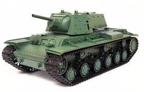 <b>Радиоуправляемый танк Heng Long</b> Russia КВ-1 1:16 (ИК+ ...