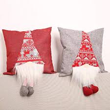 khkadiwb Merry Christmas! [ 2Pcs] Pillow Cover ... - Amazon.com